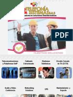 Brochure Telefonia & Sistemas s.a.s