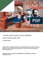 AULA 2 Sociologia Durkheim