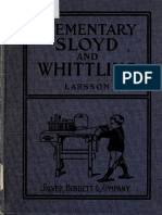 Elementary Sloyd and Whittling 1906