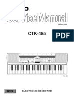 Casio CTK-485 Service Manual