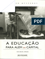 A Educacao Para Alem Do Capital - Istvan Meszaros