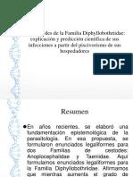 Los Cestodes de La Familia Diphyllobothriidae