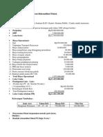 Contoh Soal Dan Jawaban Rekonsiliasi Fiskal