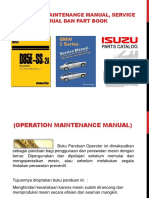 OMM (Operation Maintenance Manual), Service Manual