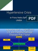 Hypertensive Crisis Uniba 20-11-12