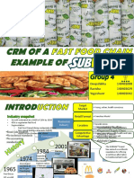 CRM Subway