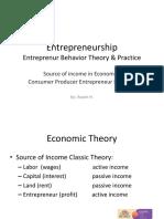 Topik 1 Source of Income and Behavior CPE