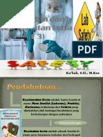 Kesehatan Dan Keselamatan Kerja (Kontrak)