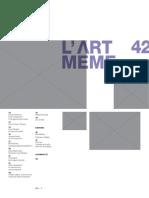 Revista L'Art Même - Dossier Cinéma Expérimental