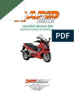 Gilera Nexus 500