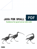 Java for Small Teams