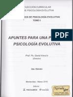 Amorin Tomo1 Apuntes Para Una Posible Psicología Evolutiva