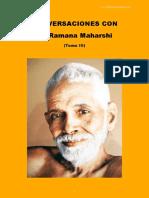 Conversaciones Con Ramana Maharshi Tomo III