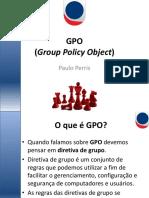 GPOs No Windows 2008 Server