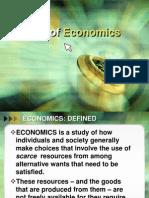 I Nature of Economics for Sending