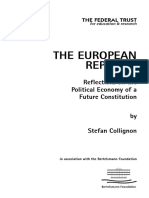 The European Republic by Stephen Collignon, 2003