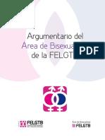 Argumentario Del Área de Bisexualidad de La FELGTB (FELGTB)