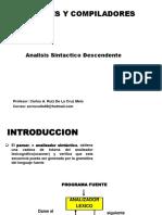Clase 7 Analisis Sintactico Descendente