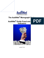 AuditNet Monograph Series Fraud Waste Indicators