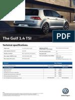 l00420 Vw Golf Leaflet r1 West Malaysia