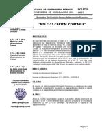 009 Boletin Nif c 11 Capital Contable