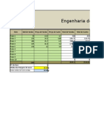 Engenharia Do Cardápio Excel 2007