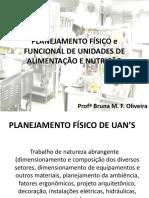 Planejamento Físico e Funcional de Unidades de Alimentação