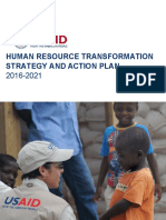 Human Resource Transformation Strategy and Action Plan