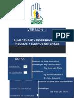 ALMACENAJE Y DISTRIBUCION DE INSUMOS Y EQUIPOS ESTERILES.doc
