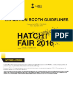 h! Exhibition Booth Guidelines