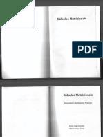 Cálculos Nutricionais Conceitos e Aplicações Práticas Andrea Fraga Guimarães