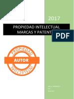 Propiedad Intelectual Marcas y Patentes