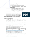 Bibliografía Completa de y Sobre Tomás González
