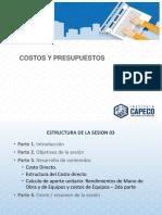 2. Presentación de La Sesión 3 Costos y Presupuestos - Rocío Otoya