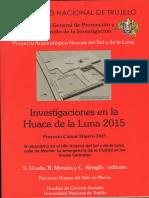 Uceda 2016 - Resumen Investigaciones PHLL 2015 - Moche - Perú