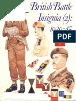 187.British Battle Insignia (2) 1939-1945