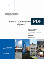 Administracion x Objetivos. Definitivo PDF
