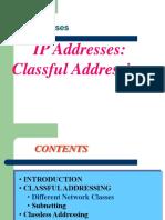 IP Address Subnet Supernet