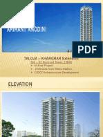 CIDCO Plan for Taloja & Kharghar