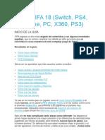 Guía FIFA 18