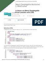 Como Hacer Un Menú Desplegable Multinivel Usando Solo CSS _ WebTursos _ Evernote Web