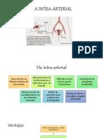 Vía Intra Arterial