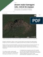 Castores Constroem Maior Barragem Natural Do Mundo, Visível Do Espaço