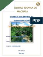 Informe de Geologia de Rios