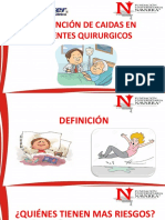 Prevención de Caidas en Pacientes Quirurgicos