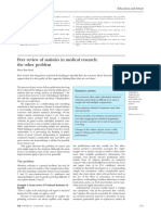 Peer review of statistics in medical research.pdf