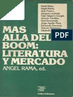 Mas Alla Del Boom. Literatura y Mercado - Angel Rama