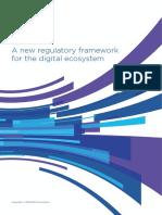 GSMA2016 Informe Completo. NewRegulatoryFrameworkForTheDigitalEcosystem English