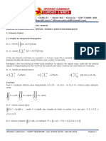 Cálculo III - Integrais Duplas e Triplas 01