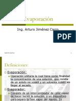 Evaporacion